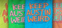 Shop for Keep Austin Weird Merchandise, Shirts and Texas Souvenirs
